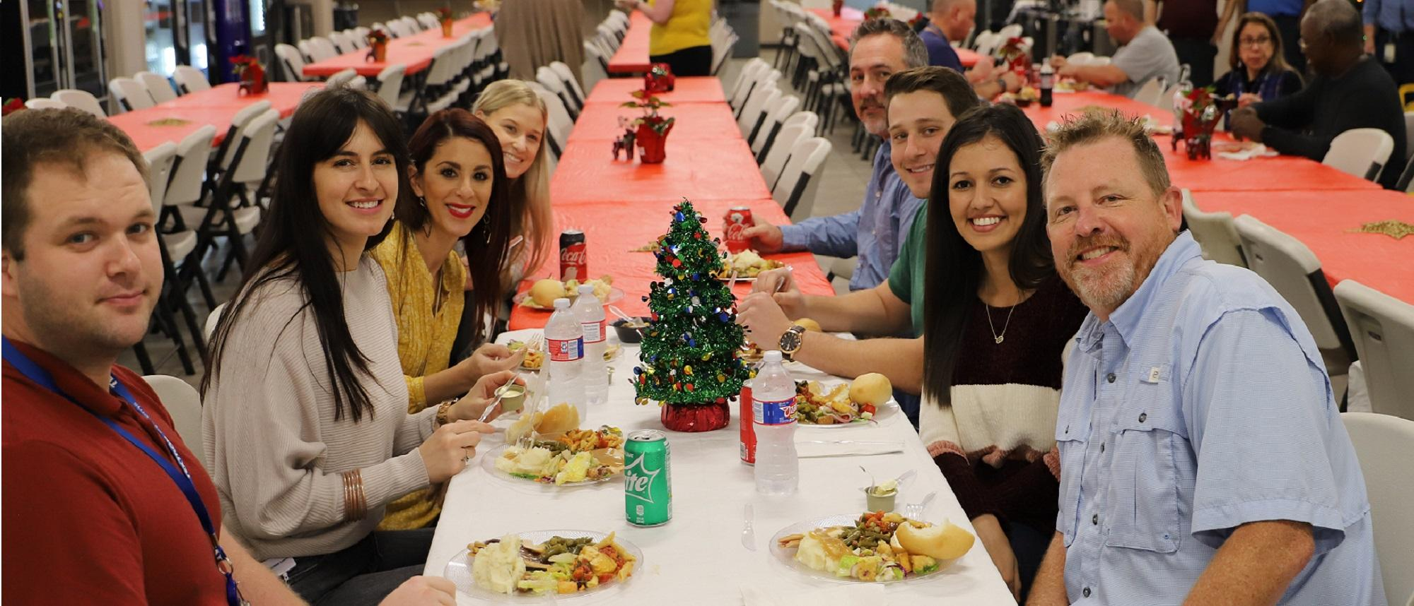 Holiday Luncheon at our Louisiana facilities.