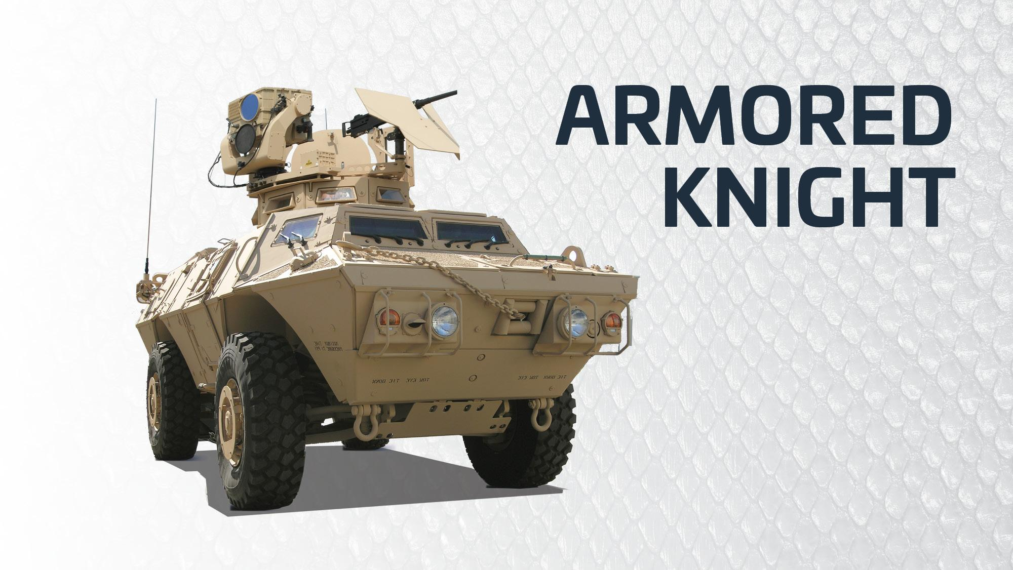 Textron Systems Armored Knight